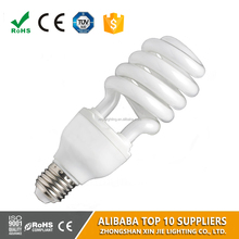 China lighting factory 40w energy saving lamp half/full spiral cfl lamp cheap price