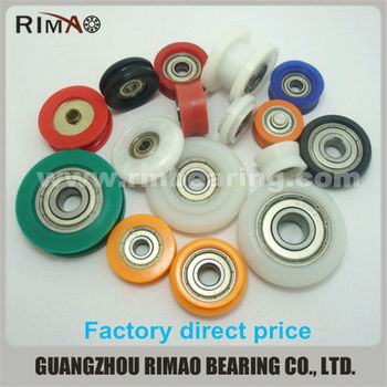 cable rope pulley wheels with bearings small nylon plastic pulley