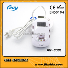 Safety household lpg multi gas leak detector alarm sensor system with CE certificate