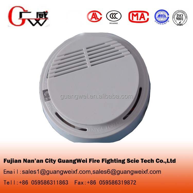 Stand alone portable smoke detector for fire alarm system