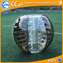 Newly sport bumperz bubble football inflatable human bubble bumper ball suit for sale