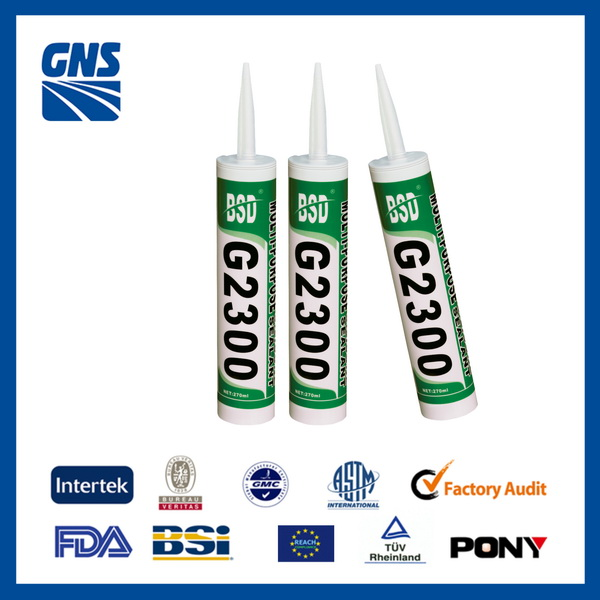 GNS marble stone silicone adhesive