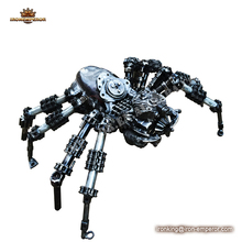 halloween metal spider decoration for garden or home decoration