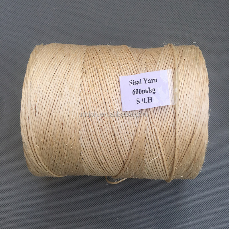 3L GRADE SISAL YARN FOR MAKING ELEVATOR CORE ROPE600/800/900/1000G/M
