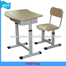 metal single classroom desk and chair used school furniture