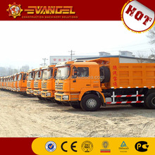 100 ton dump truck SHACMAN brand dump truck with crane for sale