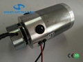 O.D90mm brushed dc motor with electric brake, 12v 24v high torque big power