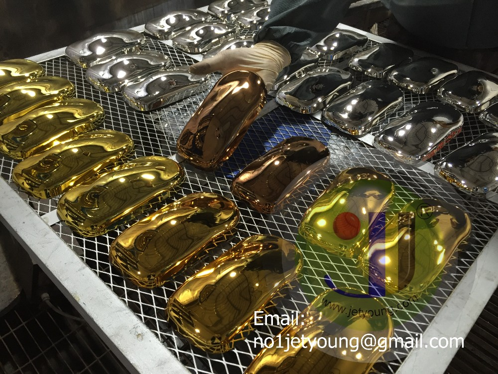Gold plating chemical-spray chrome gold color chrome spray paint gold and silver chemial.