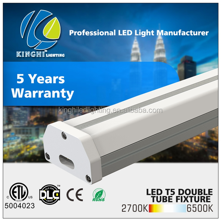 2016 hot t5 t8 fluorescent lighting fixture surface mounted t5 fluorescent light fixture led tube fixture in China ul etl dlc