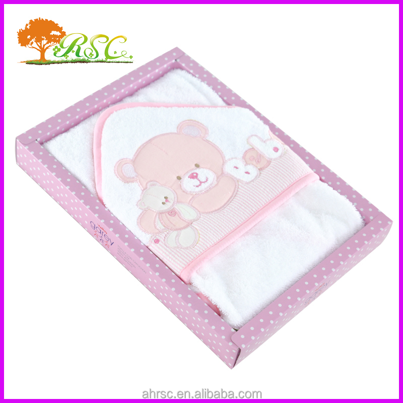 100% towel cotton terry cloth blanket for baby