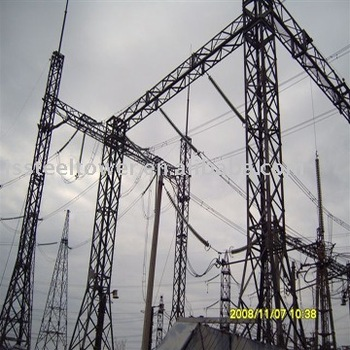 Steel Structure for Substation or Switchyard