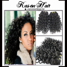 QINGDAO KASON HAIR wholesale hot sale 7a cheap stock loose wave raw pure unprocessed indian virgin remy 100 human hair 100cm