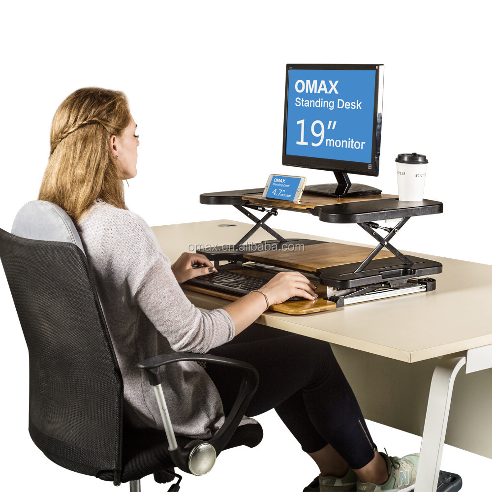 High quality hot-sale height adjustable desk standing sitting table