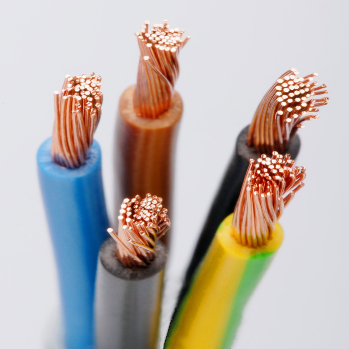 Copper Electrical Wire : Electric wire size different types of buy