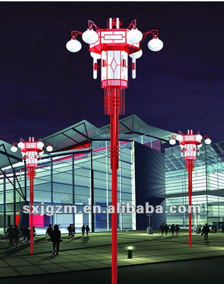 Chinese Garden lighting pole light / Landscape lamp
