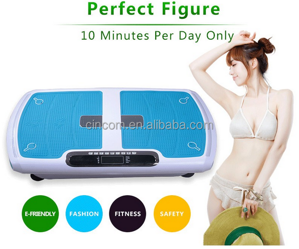 Fitness And Body Building Flat Vibration Massage Paltform