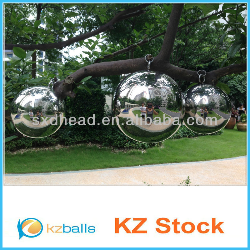 "12"" Metal Chrome coated Stainless Steel Hollow Ball"