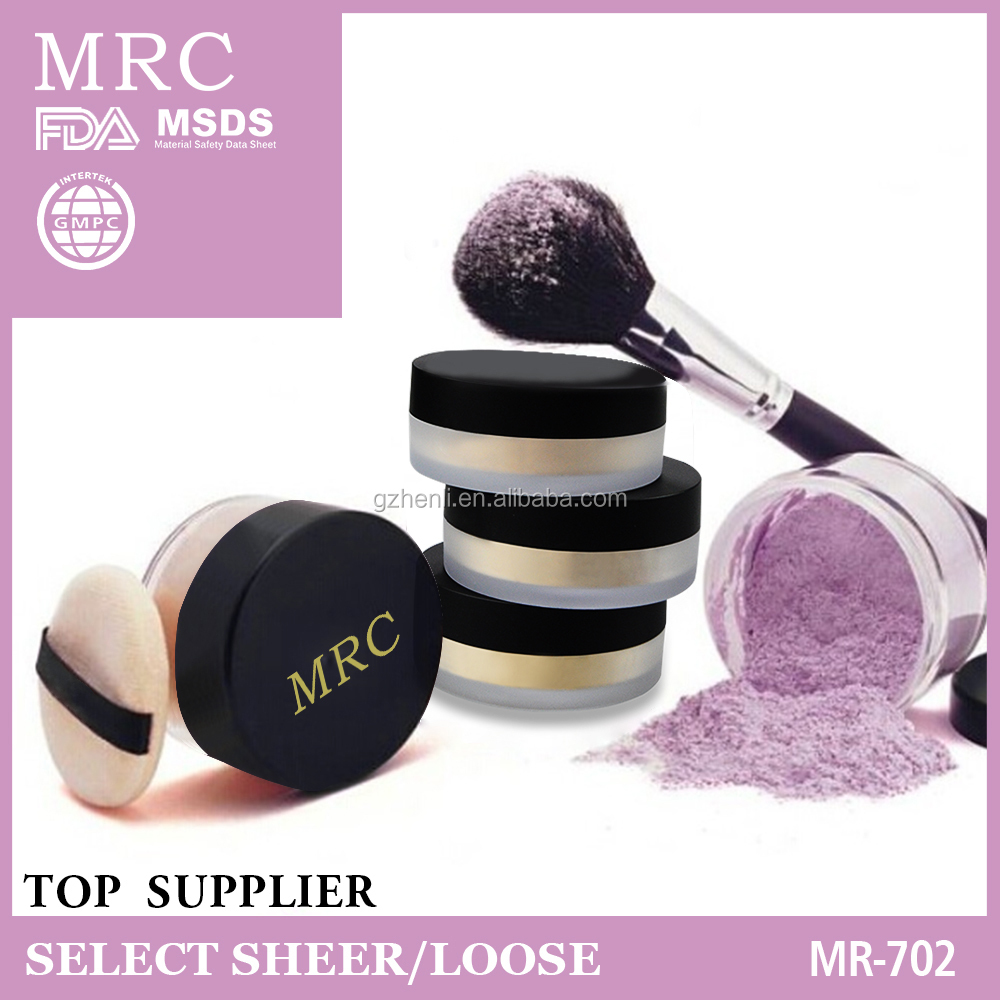 Oil-control loose powder,makeup glitter china supplier