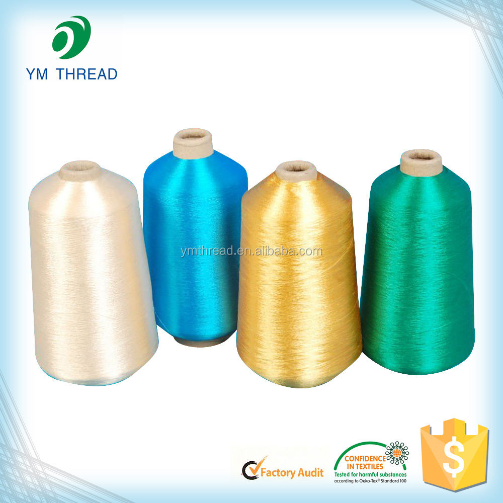 Polyester yarn dyed dty 75 36 for weaving knitting