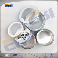 Coated screw cosmetic aluminum tin