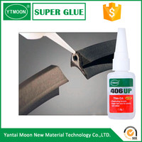 solvent free ethyl acrylate super glue 406