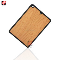 Wooden TPU Case for iPad Air, Hard Full Protective Wood Mobile Phone Case for iPad MiNI