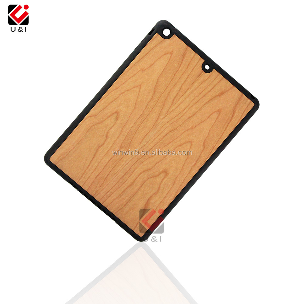 wooden tpu case for ipad air, hard wood mobile phone case for ipad mini, full protective wood case for IPad