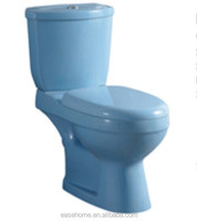 blue pink red ivory black green color toilets