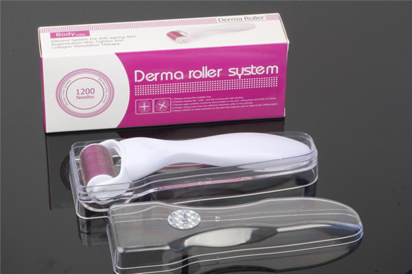 Factory Supply 1200 DRS Microneedle Roller Mts Body Treatment Derma Roller