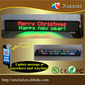 "Full color P6-16X128RGB(31""x4.5""x1.3""inch)GSM-SMS(SIM card) IOS&android Operation SystemType led display signs"