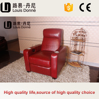 Factory price new turquoise leather sofa