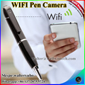 The cheapest wifi pen camera,hidden wifi pen DV,HD 720p wireless CCTV Ip pen camera