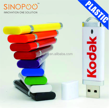Cheapest classic personalized rectangle plastic usb flash drives with logo imprinted