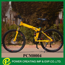 26'' suspension speeds 21speed/24 speed/27 speed spoke wheels folding mountain bicycle mountain bike folding