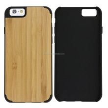 2016 New Design Bamboo Wood Mobile Phone Cover For Wood Case Iphone 6