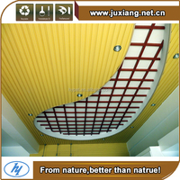 House decoration material Eco-friendly design Wpc Ceiling Competitive Price Decoratitive Wpc Ceiling