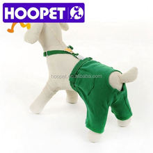 Sanitary pants for pet designer dog clothes wholesale