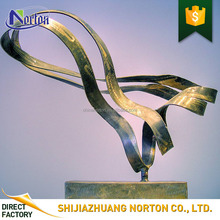 Garden / home decoration abstract sculpture 304 stainless steel for sal e NT-FS184E
