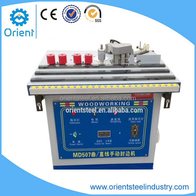 Manual Steel Surface Table Edge Banding Machine Wood working tools RMEB507