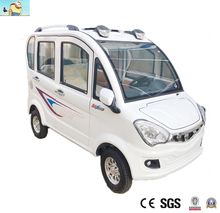 Mini electric car with top quality solar beautiful body electric car made in China