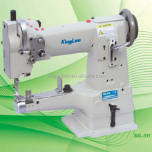 High speed cylinder bed compound feed automatic lubricated industrial sewing machine