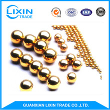 AISI G500 1.5mm Pure Solid Brass Ball from China Supplier Copper Ball