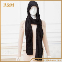 Scarf hat & Glove Sets Women fashion scarf 3 pieces accessories