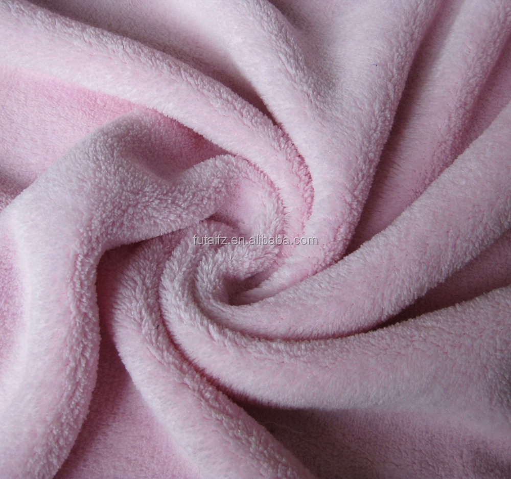 100% Polyester printed flannel fabric for blanket /clothing