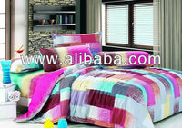100% Cotton Pigment Printed Bedding Set