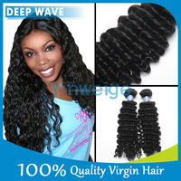 Virgin Peruvian Hair 3PCS Lot Deep Wave, 100% Raw Peruvian Hair Virgin Remy Peruvian Hair Weaves