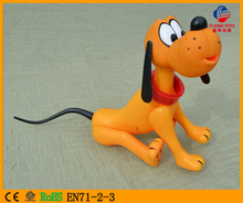 3D OEM encargo al por mayor Collectible anime Cartoon Movable plástico juguete modelo animal perro/buena calidad ABS Super acción Linda figura