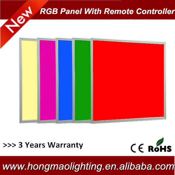 high brightness high lumen low decay surface mounted suspending ceiling 24v 36w led rgb panel light 600X600