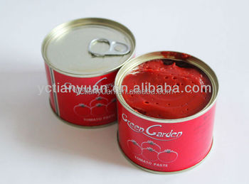 China Factory supply 28-30% 70g-4.5KG CANNED TOMATO PASTE