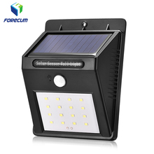 2018 New Forecum Waterproof Security Wall Light 16 LED Wireless Solar Motion Sensor Light